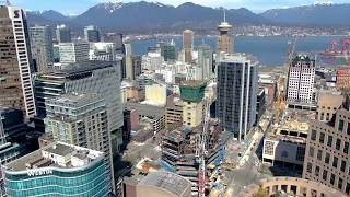 Supermétal's Construction Progress on 400 W. Georgia, Deloitte Summit Tower, Vancouver