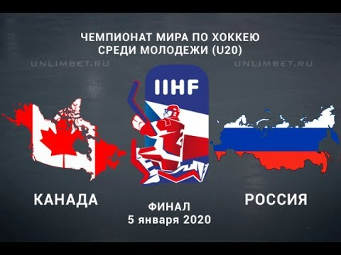 МЧМ-2020. Финал Россия - Канада.