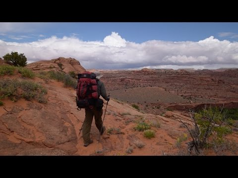 Colorado Plateau 2016 (Day 9): It's finally time for the backpacking trip