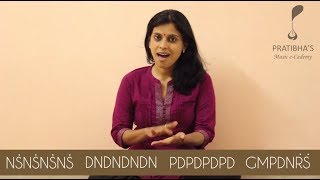 Mere Dholna Swaras   VoxGuru ft. Pratibha Sarathy