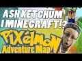 ASH KETCHUM I MINECRAFT!? - Pixelmon Adventure Map #4 - Norsk Minecraft
