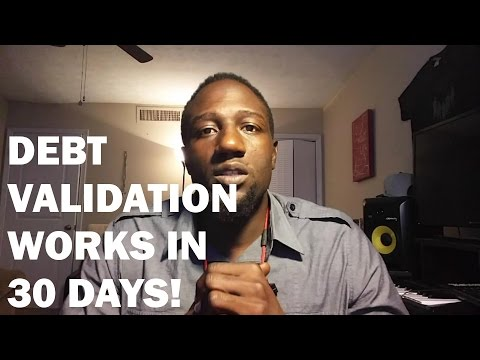 Debt Validation Works In 30 Days! (HUGE CREDIT BOOST!!)
