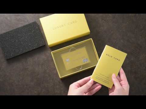 Unboxing the Luxury Card Mastercard Gold Card