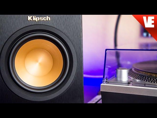 Vinyl Speakers: Klipsch RP-150M Reference - YouTube