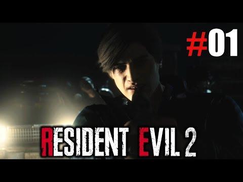 Resident Evil 2 Remake #01 | Möge der Horror beginnen | Deutsch German Let's Play
