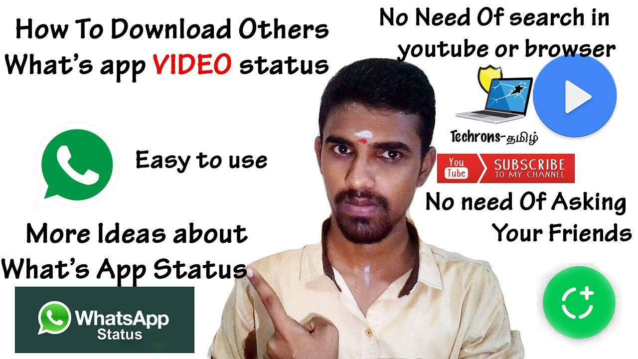 How To Download Others What's App Video Status