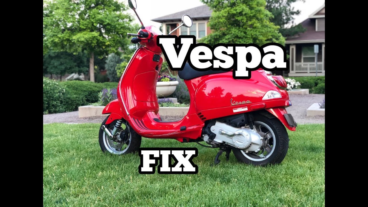 my vespa won't start? help!