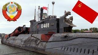 U-461 in PEENEMÜNDE - Größtes U-Boot Museum der Welt