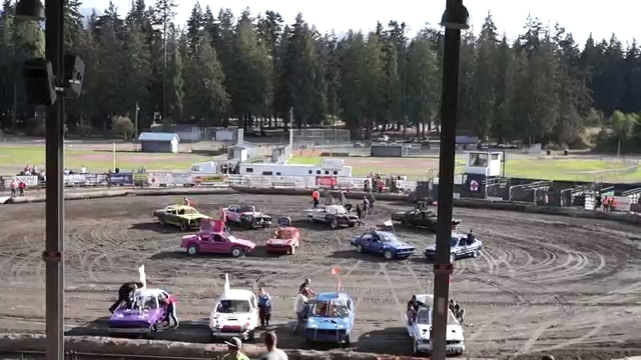 DEMOLITION DERBY PORT ANGELES AUG CAR SHOW OFF YouTube - Port angeles car show