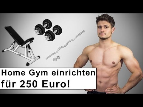 Home Gym fr 250 Euro - Fitness Training zuhause - Kaufberatung