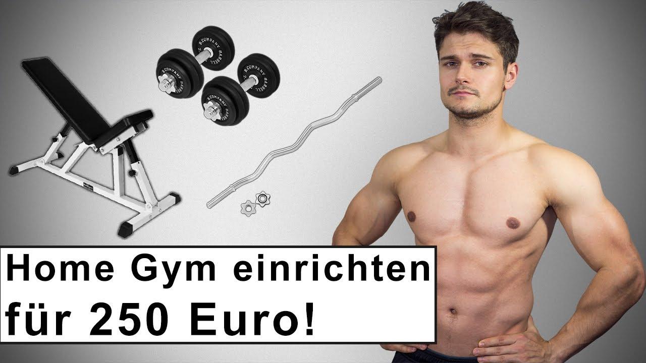 Home Gym für 250 Euro - Fitness Training zuhause - Kaufberatung ...