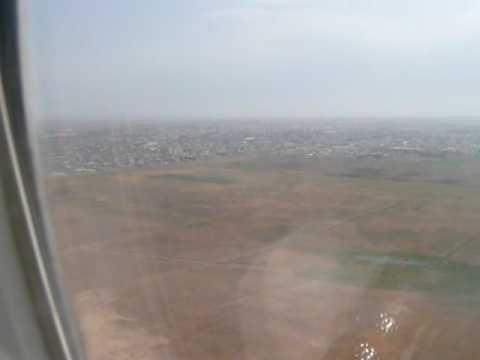 Arrival at Heydar Aliyev international airport  Baku Azerbaijan