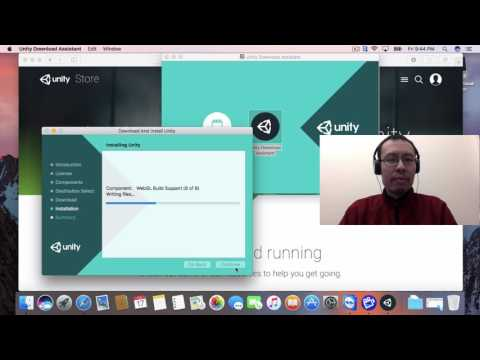 Downloading, Installing + Running Unity 3D on a Mac + Hello World
