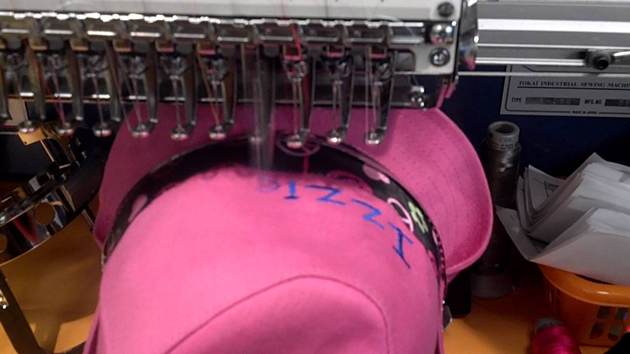 We Do Embroidery At Lids Youtube