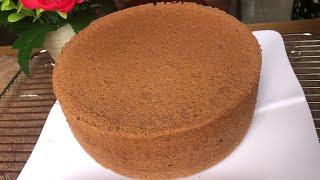 Cách Làm Bánh Bông Lan Socola Nướng Xốp Và Mịn | Chocolate cake
