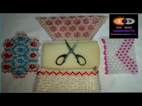 পুতির ব্যাগ How To Make A Beaded Purse Part 1 Beaded Bag