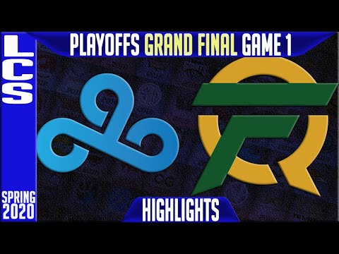 C9 vs FLY Highlights Game 1   LCS Spring 2020 Playoffs GRAND FINAL   Cloud9 vs FlyQuest G1