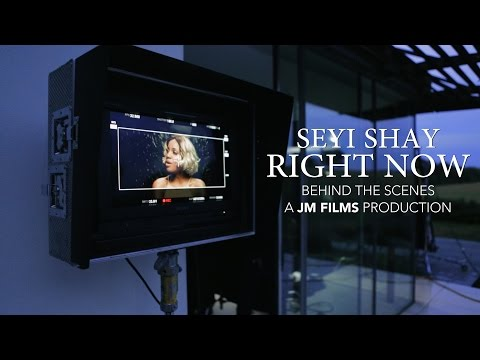 Seyi Shay - Right Now [Behind The Scenes]