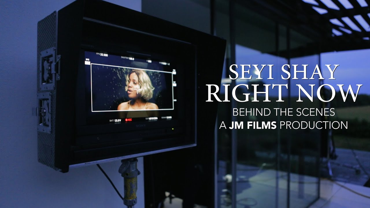 Download Seyi Shay - Right Now [Behind The Scenes]