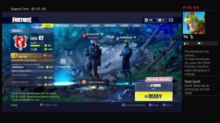 Fortnite battle royale (But no mic still soz) Ill get 1 soon :)