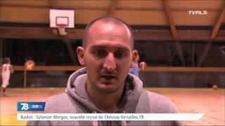 """Basket : Sylvester Morgan nouvelle recrue du """"Chesnay-Versailles 78"""""""