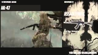 Call of Duty Ghosts   Weapon   Gun Review   AK 47 Assault Rifle   Ep #5