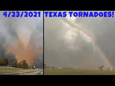 April 23, 2021 • Texas Tornado Fest & Hail (FULL 30-Minute Version!)