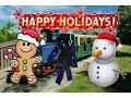 BearCreekPark Holiday Train Ride! (Ft. SlimeyBro)