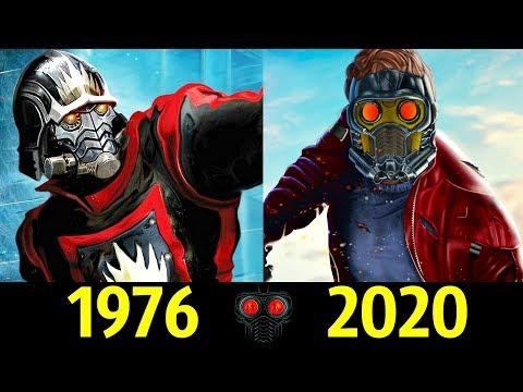 Звездный Лорд - Эволюция (1976 - 2020 ) ! Все Появления Питера Квилла !