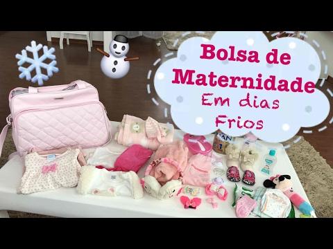 O que levar na bolsa de maternidade em dias frios - Ana Paula Guimarães