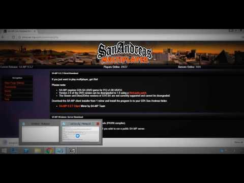 San Andreas Multiplayer Server Kurmak (2017)