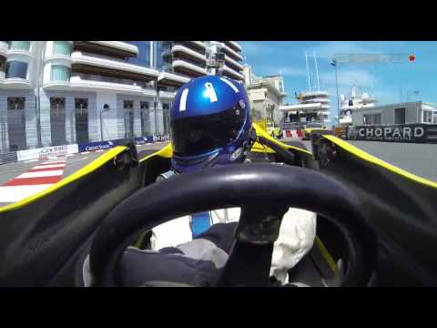 Sky Sports F1 2014: Damon Hill Drives Renault Turbo Charged Car in Monte Carlo