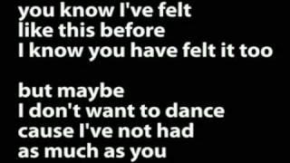 Arab Strap - Don't Ask Me To Dance (Lyrics)