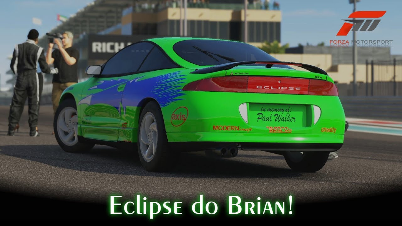 Eclipse Do Brian Forza Motorsport 5 Pt Br Youtube
