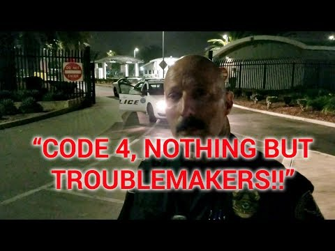 "LOS ANGELES AIR FORCE BASE ""CODE 4, NOTHING BUT TROUBLEMAKERS"" with Nasty Nathanial"