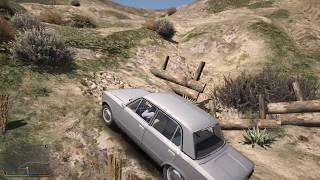 GTA 5: ПОЕХАЛ С БАТЕЙ НА КОПЕЙКЕ В ЛЕС ПО ГРИБЫ! ОФФРОУД НА ВАЗ 2101 - РЕАЛЬНАЯ ЖИЗНЬ ГТА 5