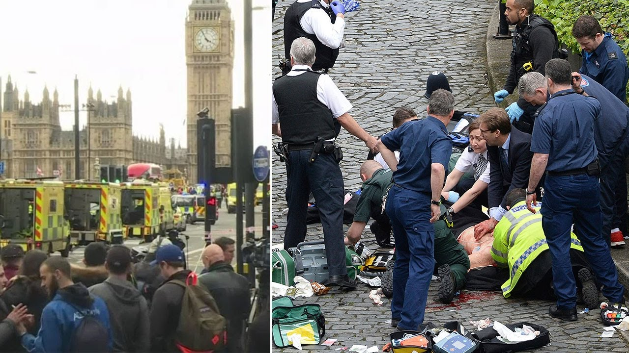 Deadly rampage outside UK Parliament - YouTube