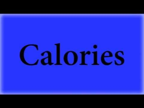How Do You Convert Calories To Joules