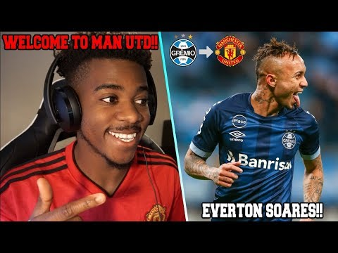 EVERTON ● WELCOME TO MANCHESTER UNITED 2019   Reaction
