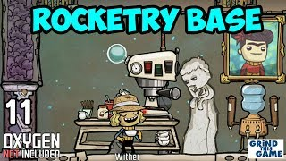 ROCKETRY UPGRADE BASE #11 - Oxygen Not Included - Espresso for Dupes!