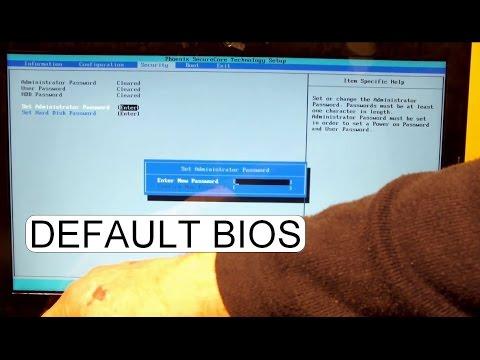 Lenovo G500 Bios System Password