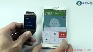 NO.1 G2 Sapphire Glass Smart Watch on Hands