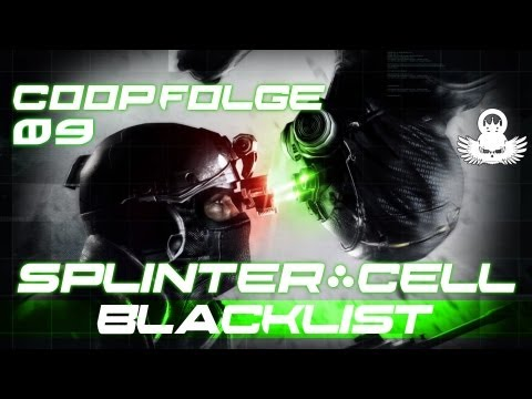 Let's Play Splinter Cell Blacklist Coop #09 [German/Full-HD/Perfektionist] Varon Abteilung