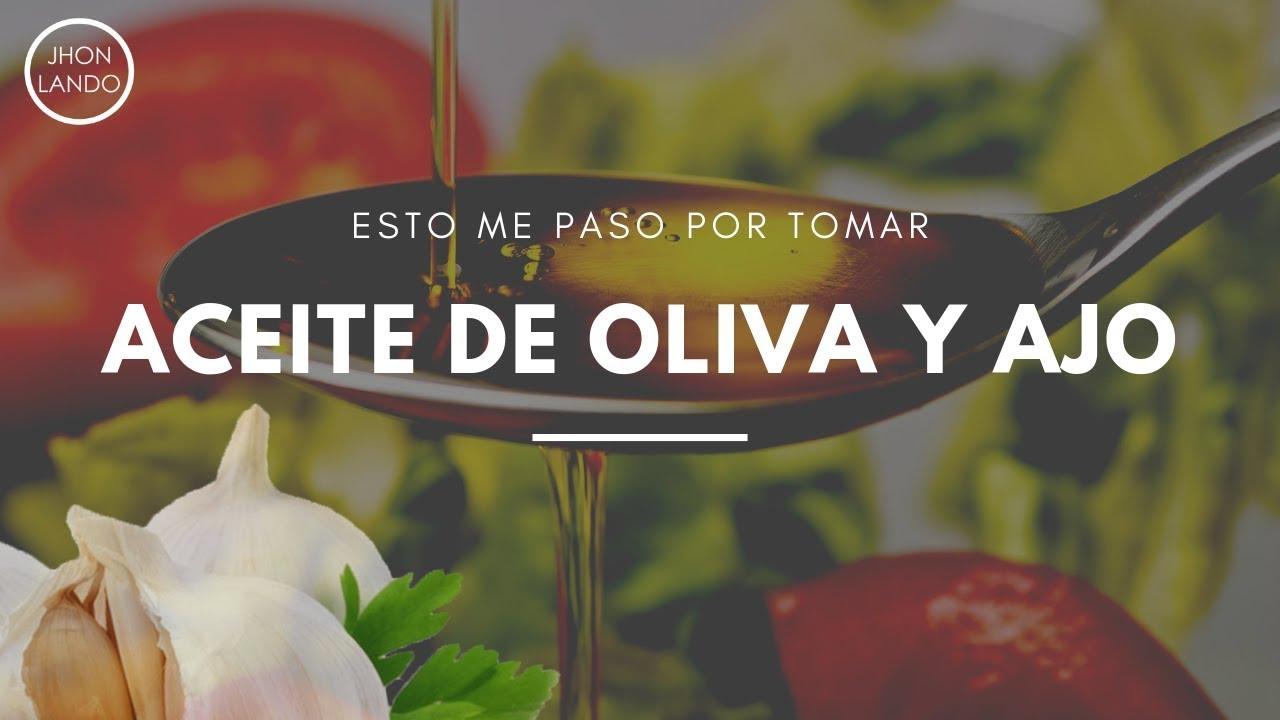 Como tomar el aceite de oliva con ajo para adelgazar