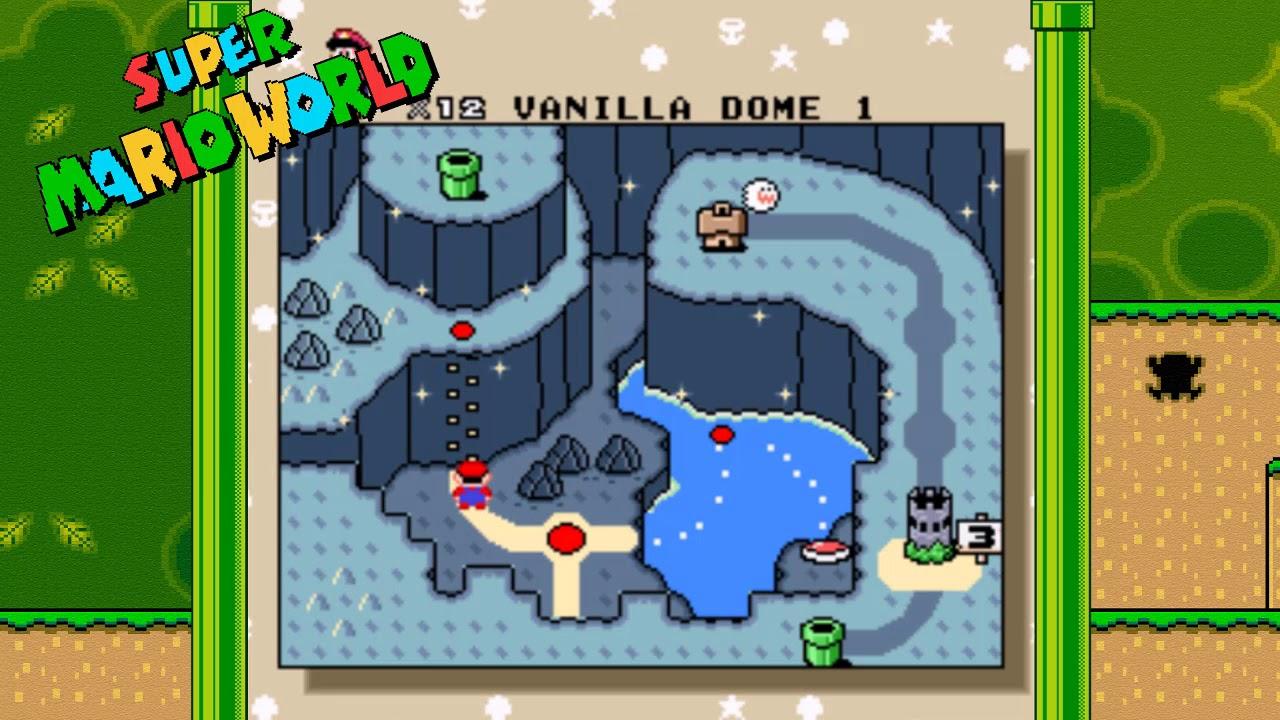 super mario world map all levels Super Mario World All 24 Secret Exits Revealed Youtube