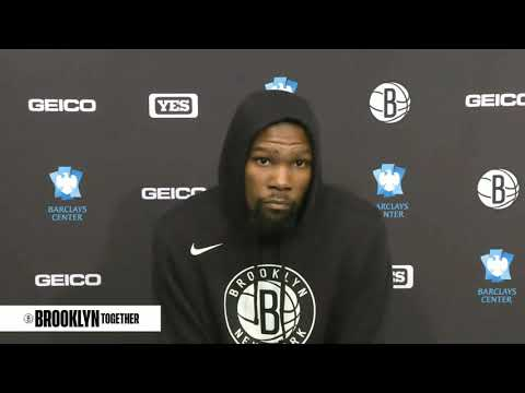 Nets Kevin Durant Postgame Brooklyn Loss vs Lakers