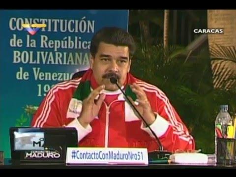 En Contacto con Maduro #51, parte 17/17, Cierre del Presidente Maduro