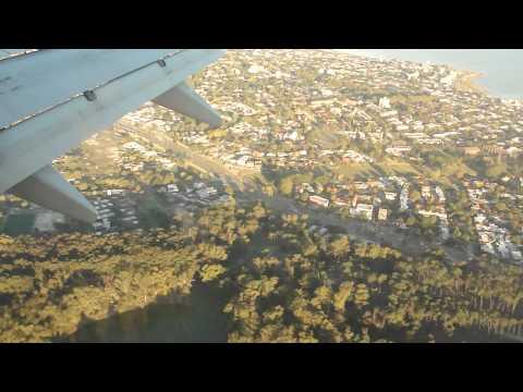 aterrizaje aeropuerto carrasco Uruguay