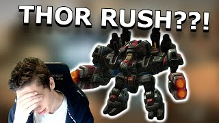 Thor DROP And A Meching Terran? | Road To Rank 1