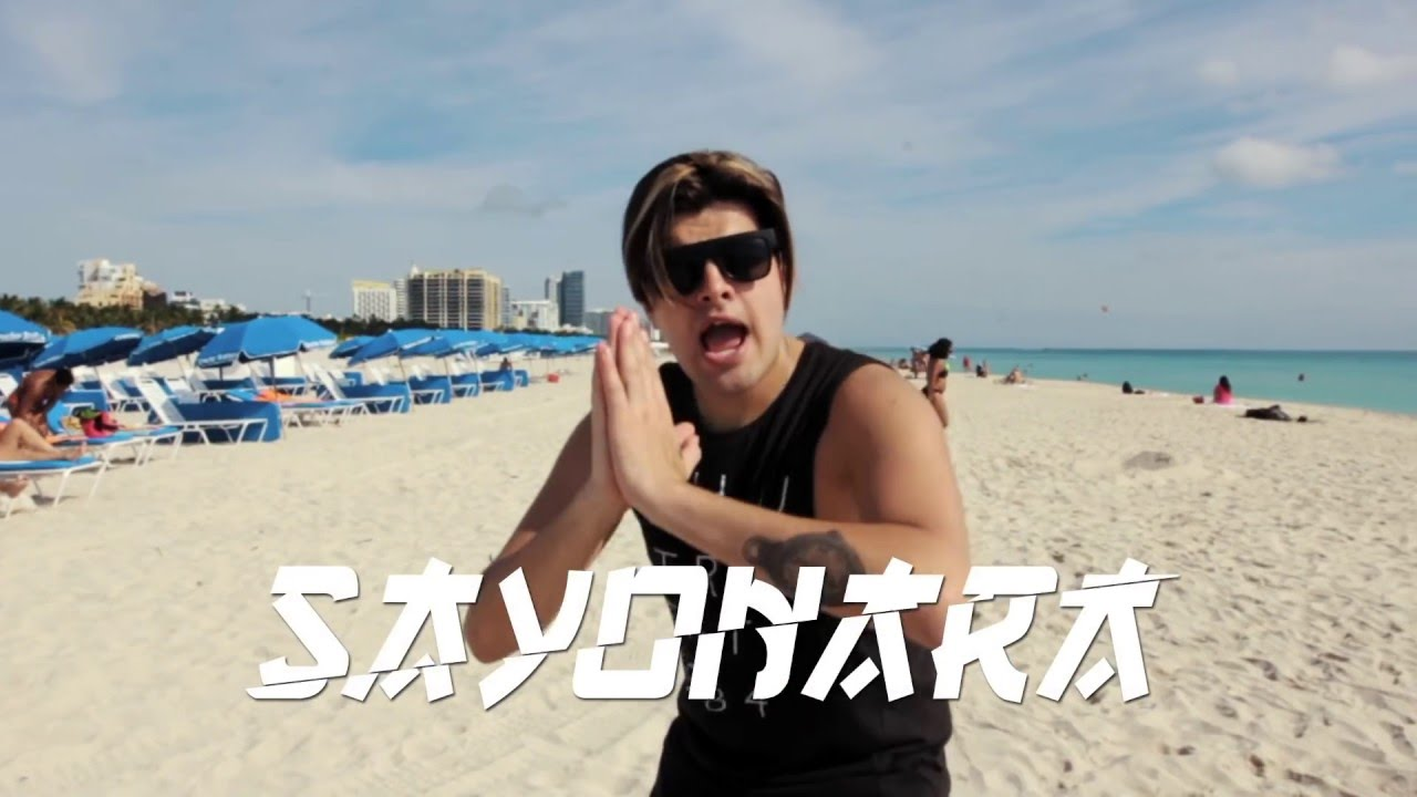 Jonathan Moly - Sayonara Feat. Jerry Rivera  (Lyrics Video)